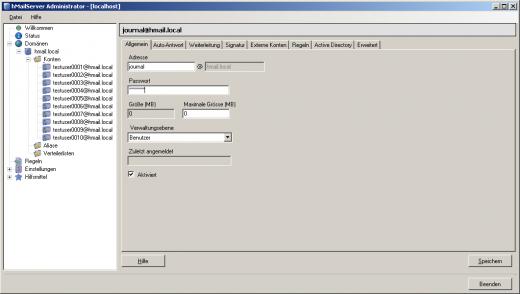 E-Mail-Archivierung von hMailServer – MailStore Server Hilfe