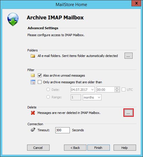 MailStore Home screenshot