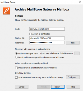Archiving Emails from Microsoft Office 365 - MailStore Server Help