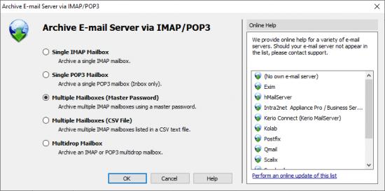 intranet mail server