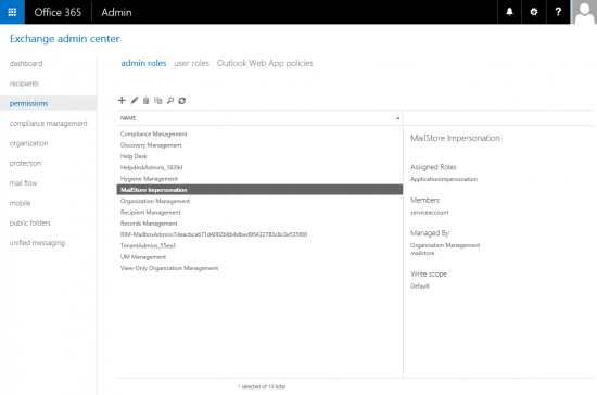 Archiving Emails from Microsoft Office 365 - MailStore