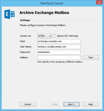 Archiving Emails from Microsoft Exchange 2010 - MailStore